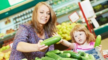 Nakupování s dětmi