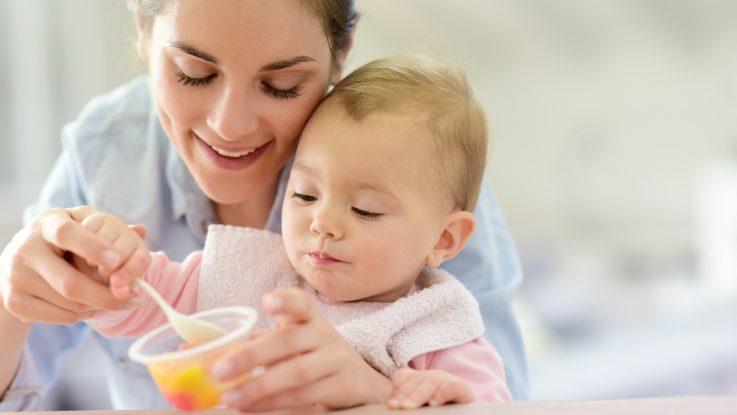 Jahodovo-jablečný příkrm pro kojence