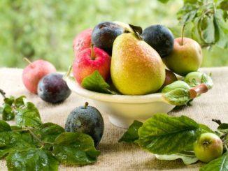 Recepty pro děti, švestky, jablka a hrušky