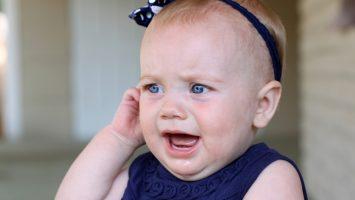 Zánět ucha u dětí