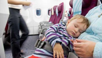Cestování s dětmi letadlem, cestování s miminkem letadlem