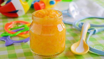 Recepty pro děti jablko-meruňková přesnídávka