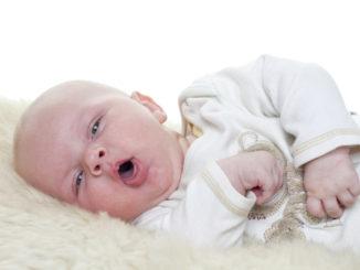 Kašel u novorozence