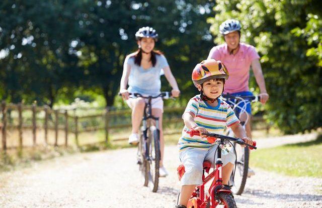 Jak naučit dítě na kole
