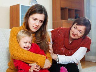 Dítě nemá rádo babičku