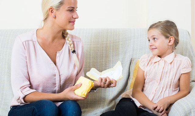 Jak vysvětlit dítěti menstruaci