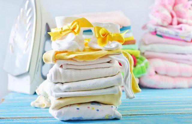 Žehlení dětského prádla