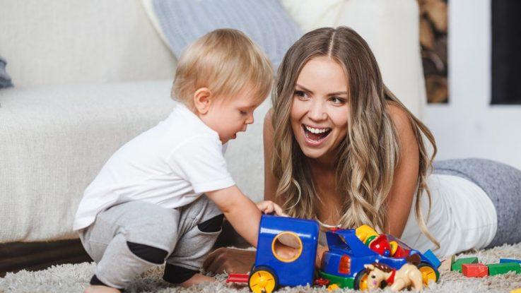 Hračky pro roční dítě