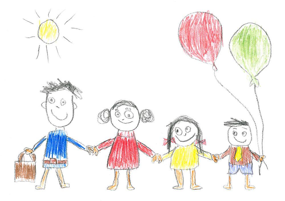 Vyvoj Detske Kresby Co Se Z Obrazku Vaseho Ditete Muzete Dozvedet