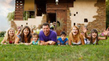 sešívaná rodina
