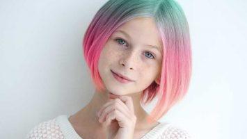 Barvení vlasů u dětí