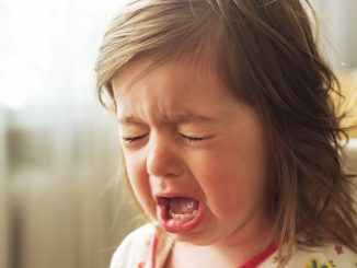 Plačtivost u dětí, dítě pláče