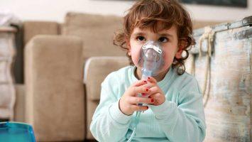 Astma u dětí, inhalátor