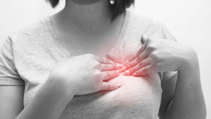 Zatvrdnutí mléka v prsu