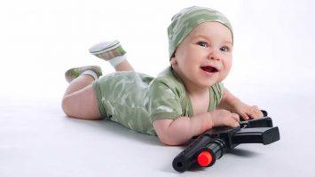 Střelba u dětí, děti a zbraně