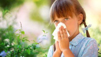 alergická rýma u dětí