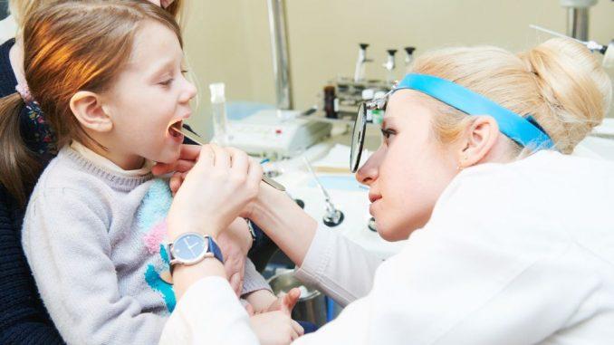 Nosní mandle u dětí