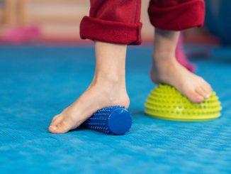 plochá noha u dětí