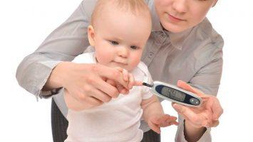 Cukrovka či diabetes u kojenců