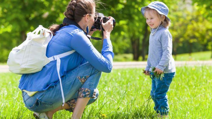 jak fotit děti