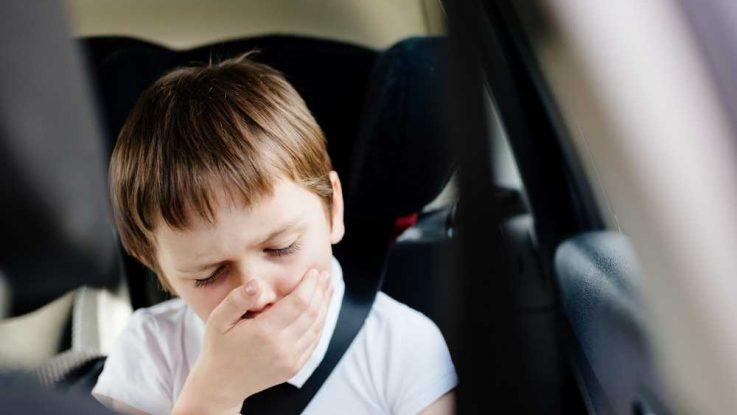 Zvracení v autě u dětí, Kinetóza