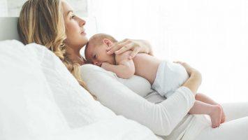 Stahování dělohy po porodu