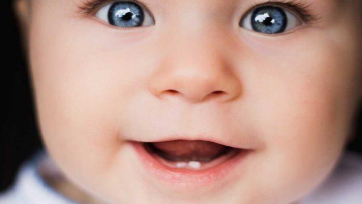 Barva očí miminka