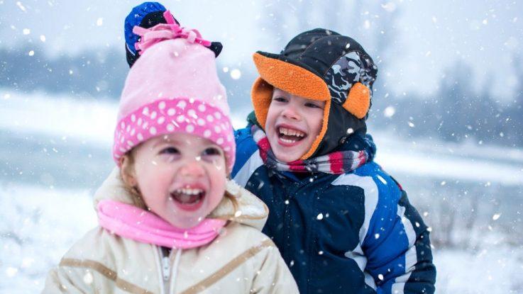 Jak obléct dítě v zimě do školky