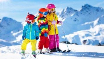 Jak naučit děti lyžovat