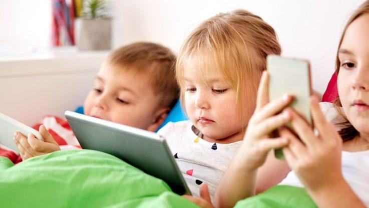 Závislost dětí na internetu