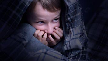 Dítě se bojí vlastní smrti