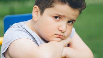 obézní děti mají sklony k depresím