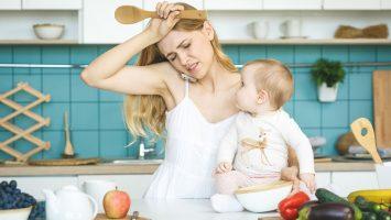Cena práce na mateřské