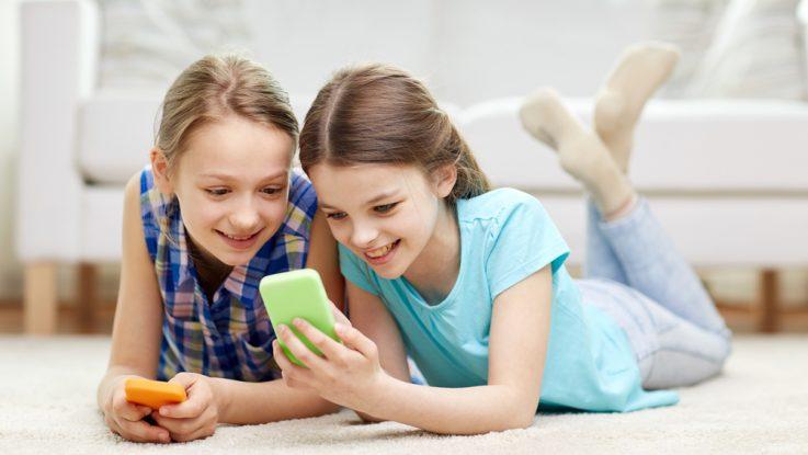 Kontrola dětí na sociálních sítí