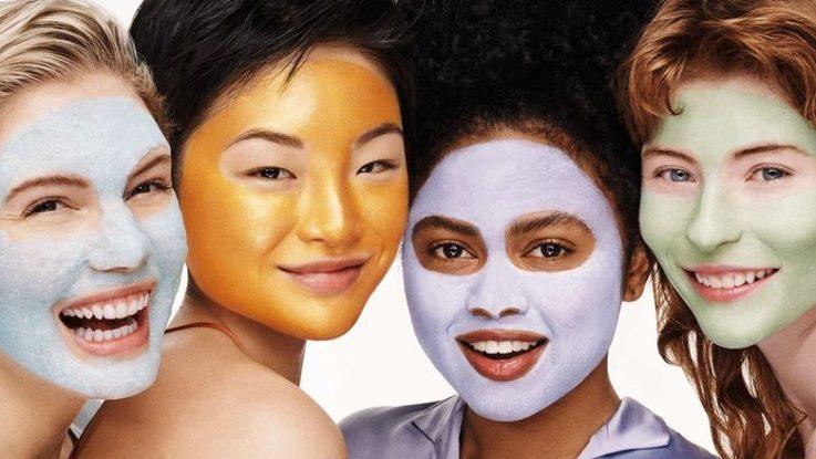 Korejské pleťové masky