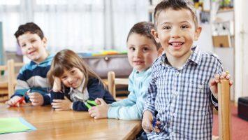 první den ve školce