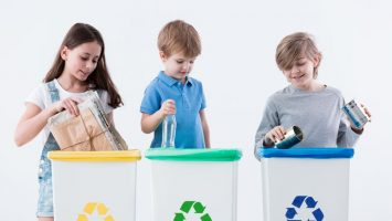 Jak naučit děti třídit odpad
