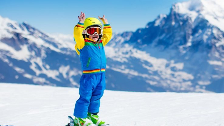 Jak vybrat lyže pro dítě