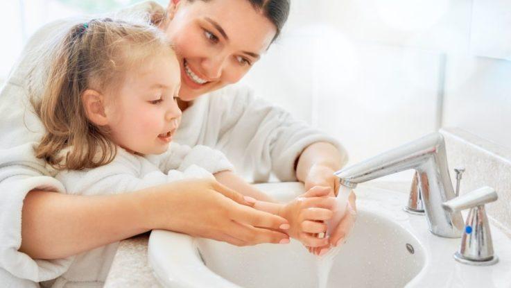 Jak naučit děti mýt ruce