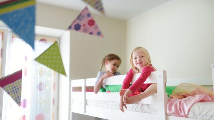 Dvoupatrové postele pro děti