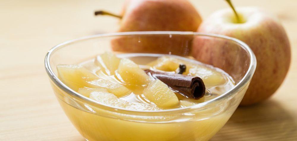 Jablečný kompot