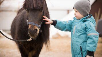 Hipoterapie u dětí