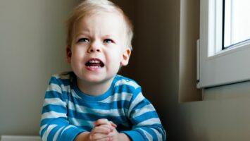 Proč se dvouleté dítě vzteká