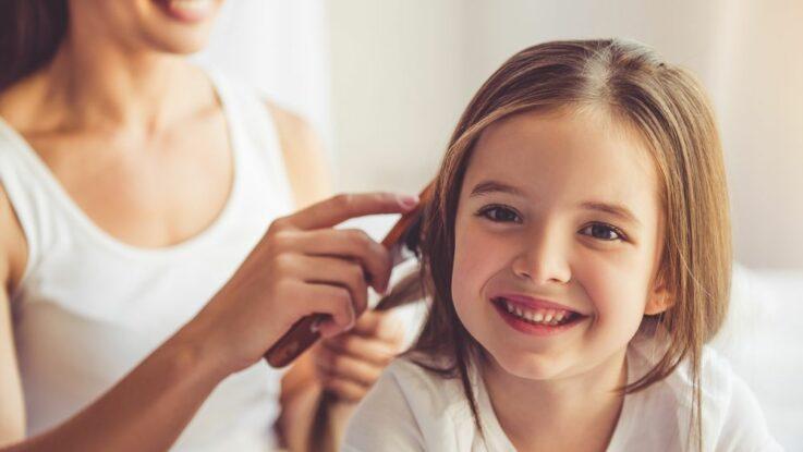 Jak pečovat o dětské vlasy