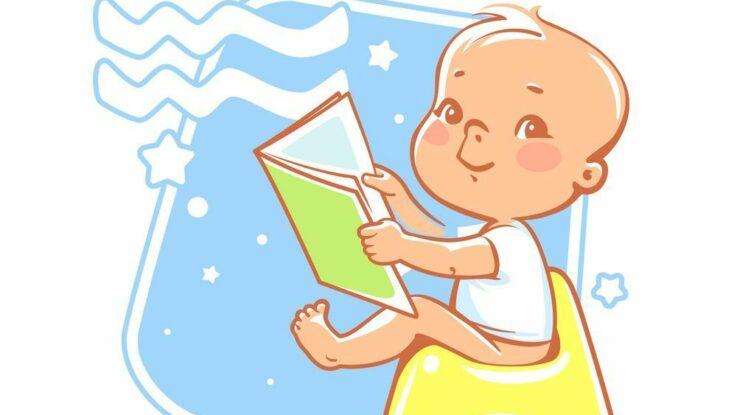 Dítě narozené ve znamení vodnáře