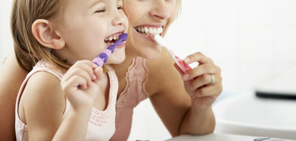 Chyby při čištění zubů u dětí