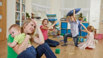 Jak zvládat stres na mateřské
