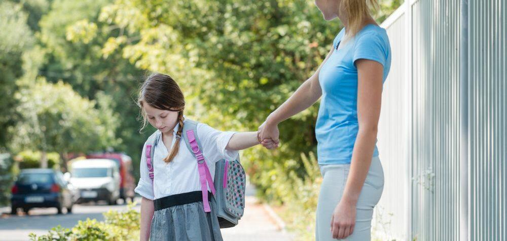 Dítě odmítá chodit do školy