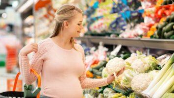 Květák v těhotenství a při kojení