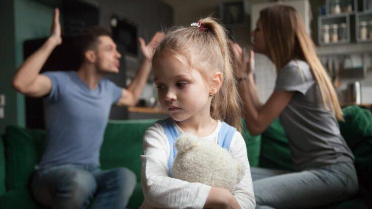 Jak se nehádat před dětmi